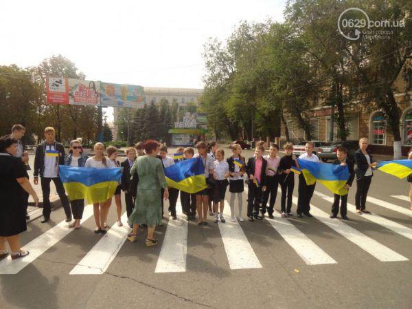 Дети Мариуполя не хотят войны и просят мира в Украине