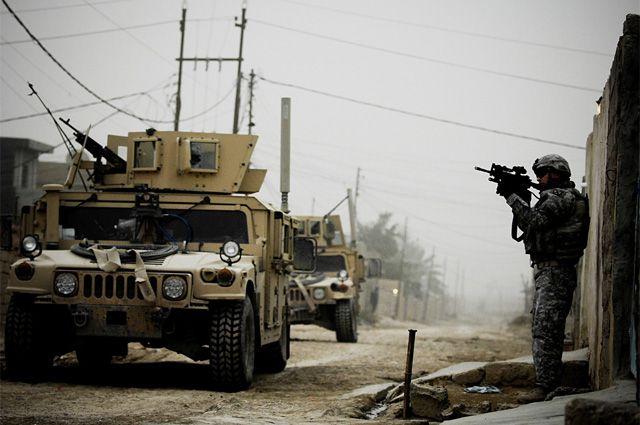Бойцы отряда Дельта на Ближнем Востоке.