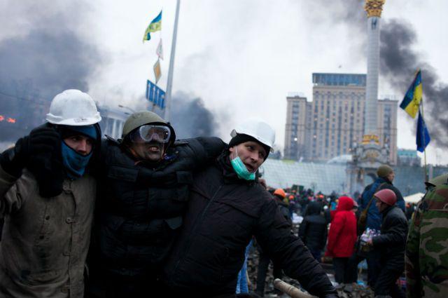 Трагедия на Евромайдане в феврале