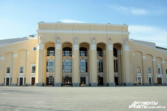 Евгений Куйвашев на Центральном стадионе принял холодный душ