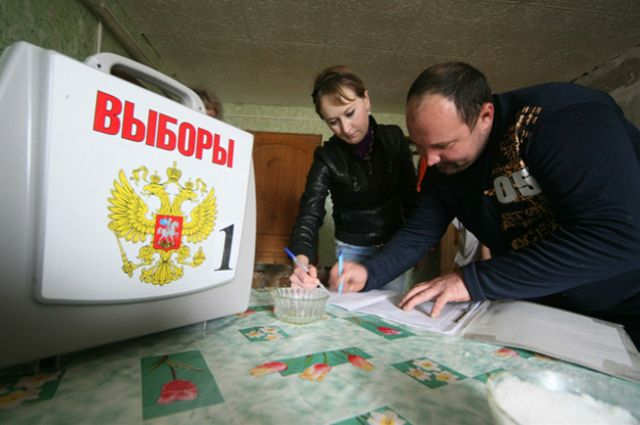 На дом к избирателям приедут с мобильной урной для голосования.