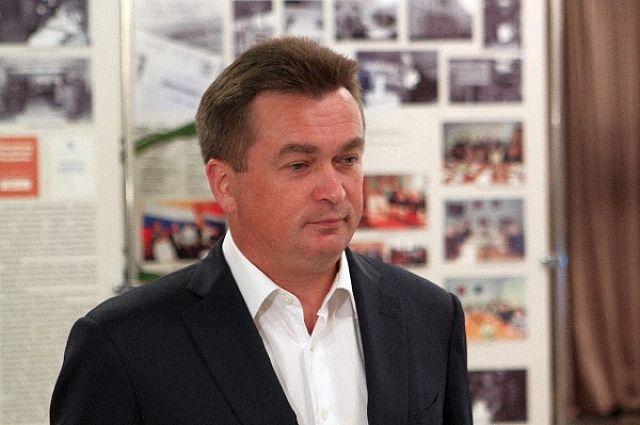 Владимир Миклушевский во время интервью.