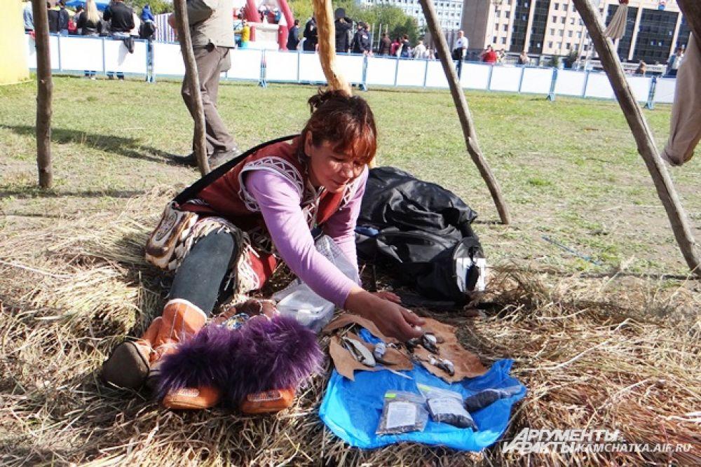 Были на празднике и представители коренных народов.