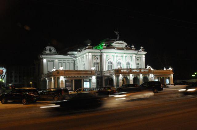 В Омской драме начались гастроли.