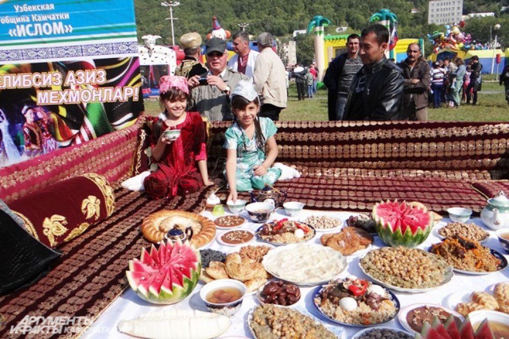 Узбеки славятся не только трудолюбием, но и гостеприимством.