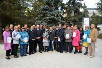 Коллектив «Ростелеком» продолжает облагораживать «Аллею связистов».