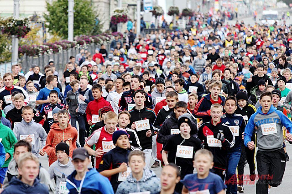 В фестивале приняли участие многие школьники города.