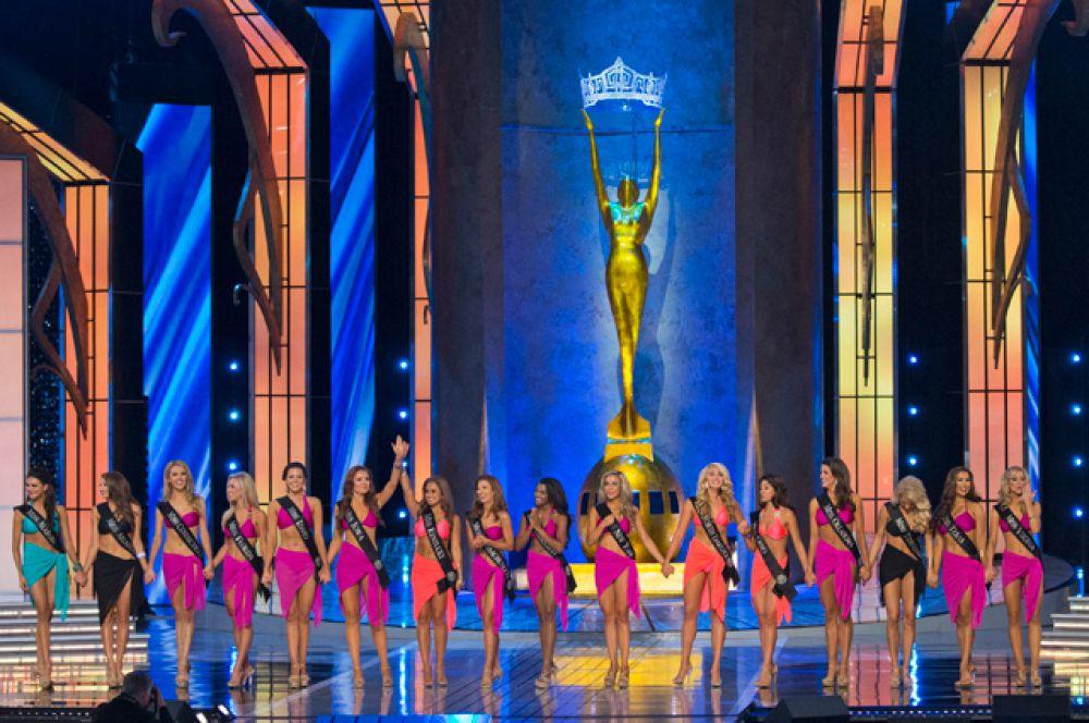 Конкурс красоты «Мисс Америка» проводился в 88-й раз. К участию в нем допускаются девушки от 17 до 24 лет.