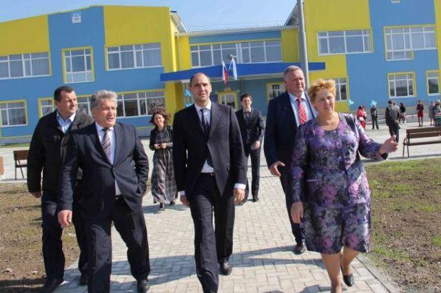 В Шалинском районе открывается новое здание школы