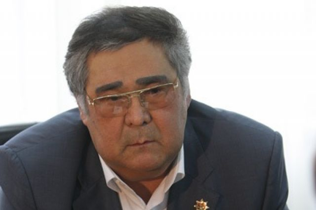 Губернатор Кемеровской области Аман Тулеев.