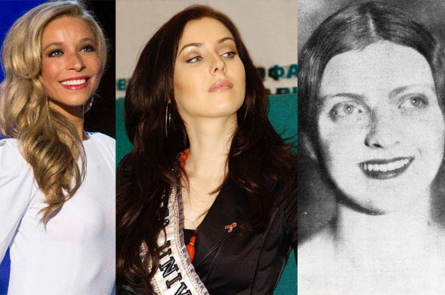 Победительницы конкурса красоты: Кира Казанцев, Наталья Глебова, Марина Шаляпина.