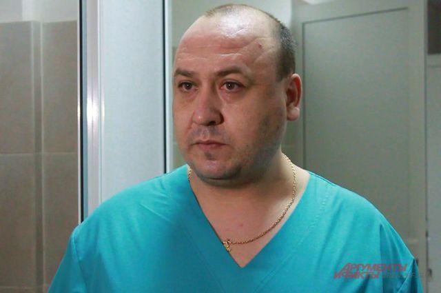 Замглавврача по медицинской части горбольницы №4 Денис Давыдов