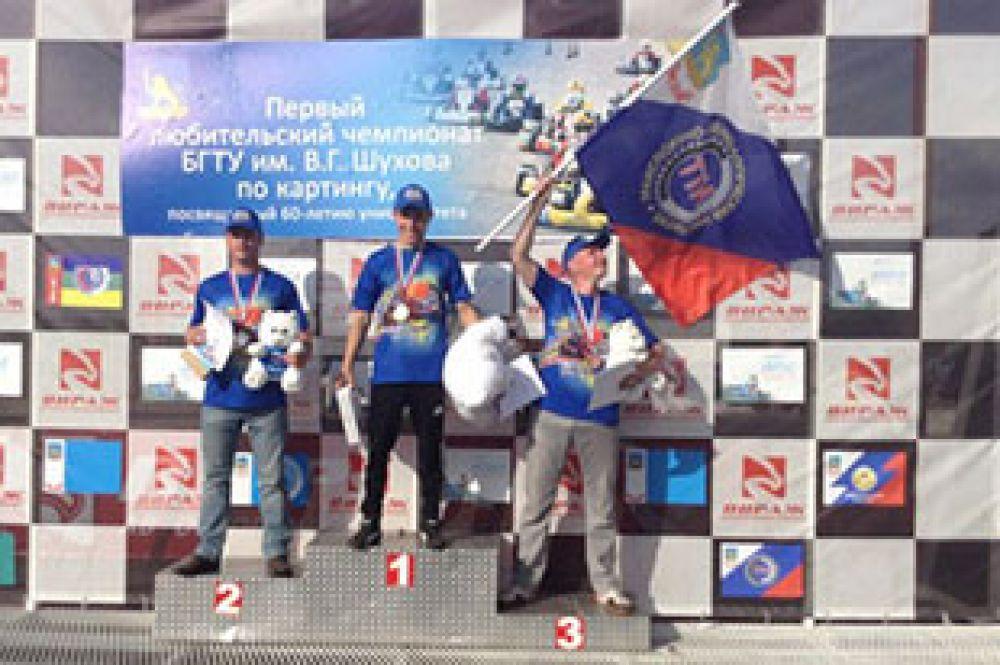 Победители первого любительского чемпионата БГТУ по картингу