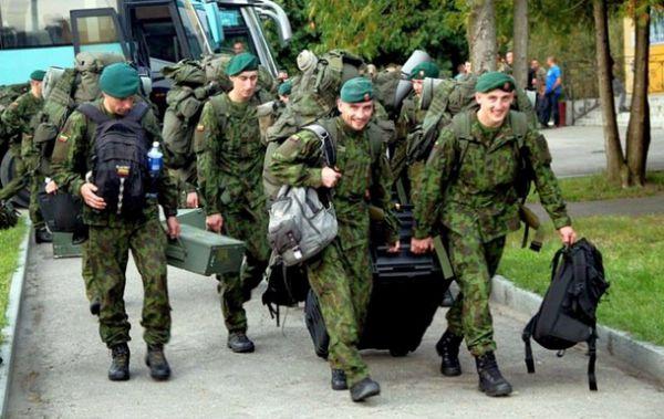 Украинско-американские тактические учения Rapid Trident-2014