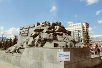 Богатырь с памятника