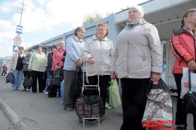 Дачники будут ездить на садовых автобусах ещё до 12 октября.