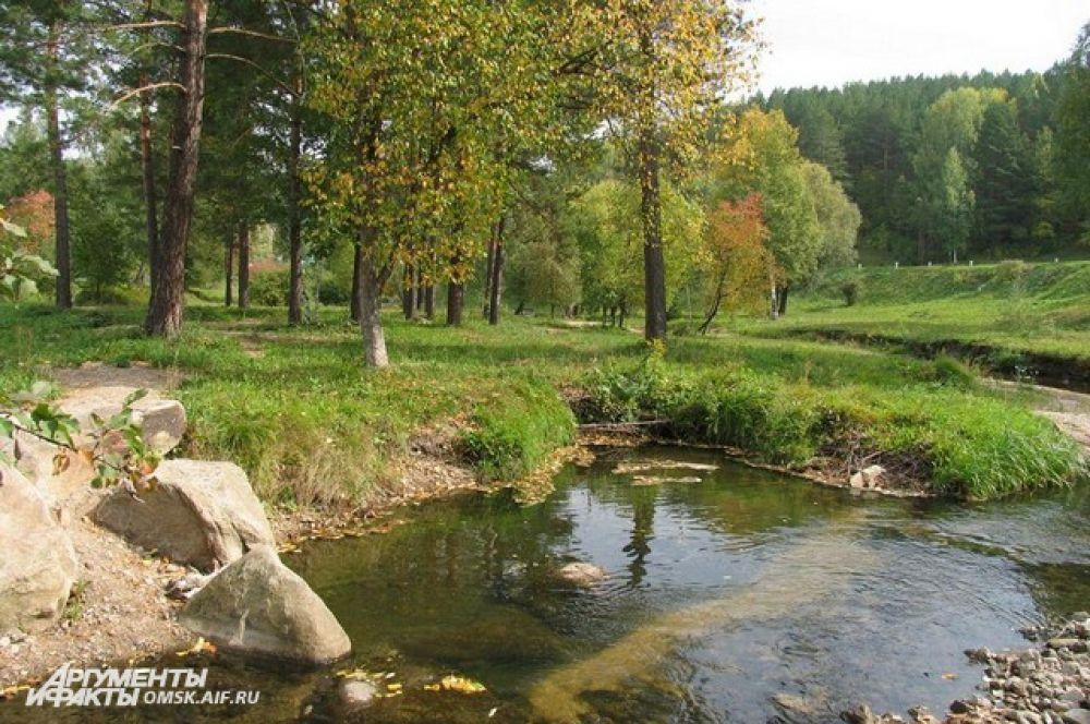 На Алтае можно пройти санаторное лечение и насладиться красотами природы.