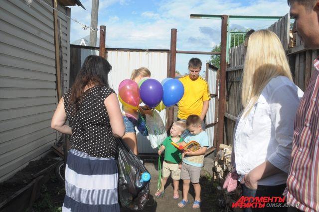 Беженцы из Украины устроились в Омской области.