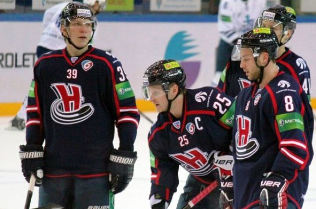 Хоккейная «Сибирь» обыграла казахстанский «Барыс»