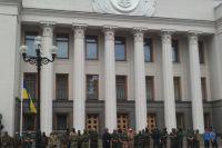 Здание украинского парламента