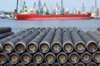 Трубы, предназначенные для строительства «Южного потока» в Болгарии.