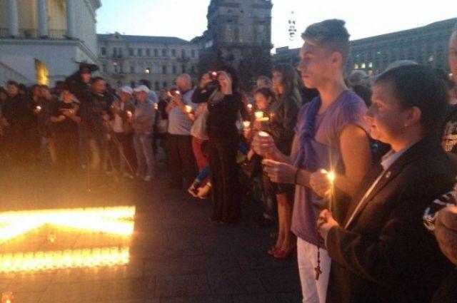 Акция памяти погибших журналистов
