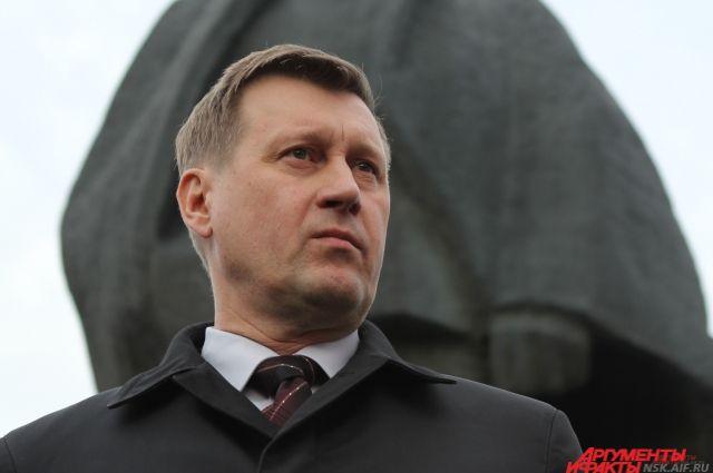 Мэр Новосибирска, Анатолий Локоть.