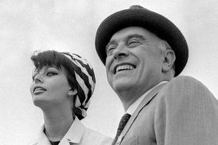 Софи Лорен и Карло Понти. 1970 год.