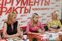 """Круглый стол в пресс-центре """"АиФ-Новосибирск"""""""