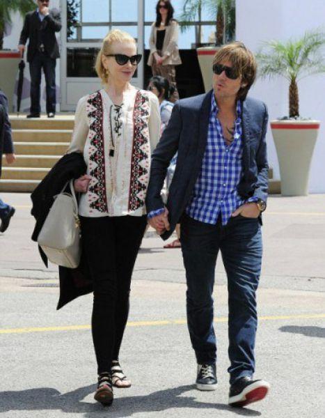 Николь Кидман - голливудская актриса с мужем