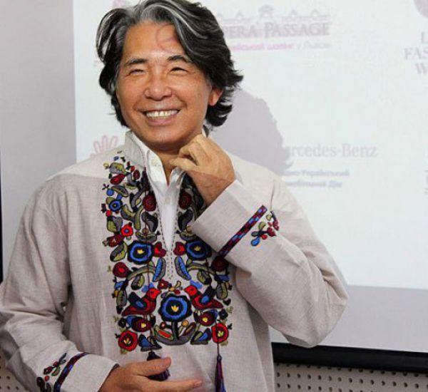 Японский дизайнер Кензо Така во Львове, 2010 год