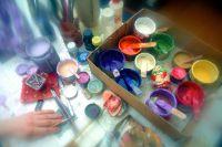 Участников мастер-классов научат  смешивать краски.