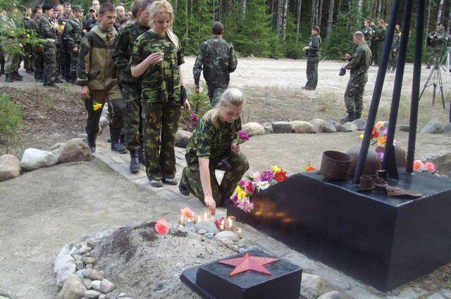Дети, видевшие, где шла война, могилы осквернять не будут.