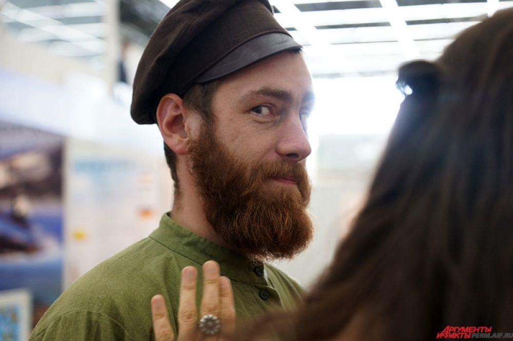 Казаков на форуме можно было легко отличить по густой бороде.