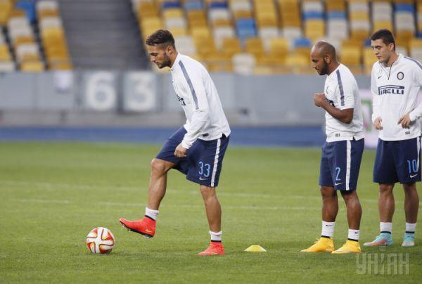 Тренировка ФК «Интер»