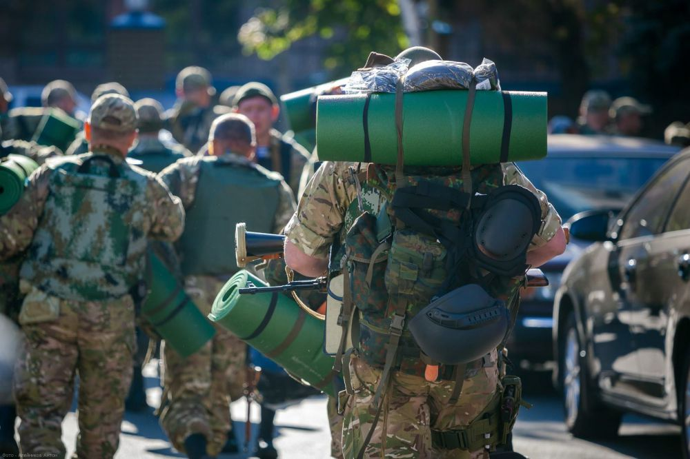 Батальон спецназа «Кривбасс» отправился в зону АТО