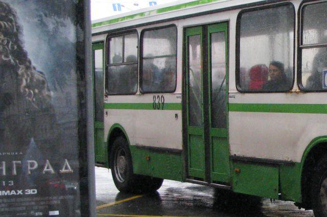 Автобус №18 в Челябинске