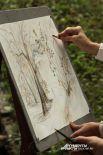 Пленэр — живописная техника изображения объектов при естественном свете и в естественных условиях