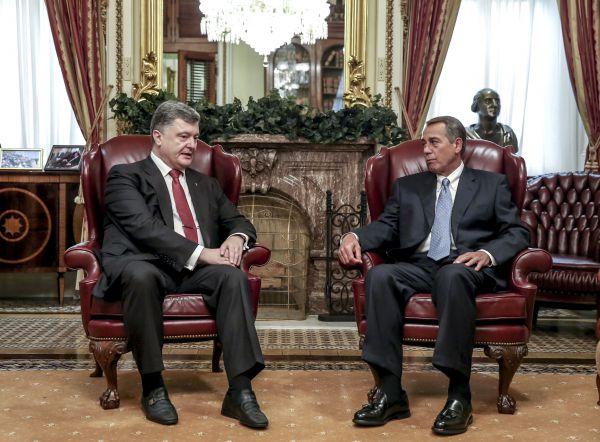 Петр Порошенко в США