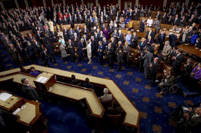 Порошенко в Конгрессе США