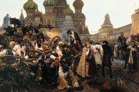 «Утро стрелецкой казни». В. И. Суриков. 1881 год.