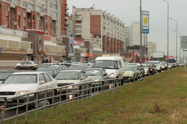 21 сентября в Омске ожидаются пробки.