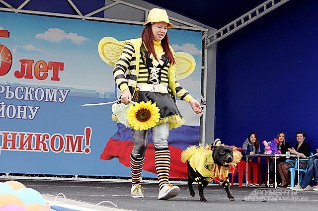 Наталья Рассказова и её собака - решили не ездить в тропики, чтобы помочь собакам.
