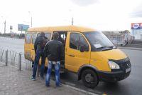 Количество маршруток в Омске хотят сократить.