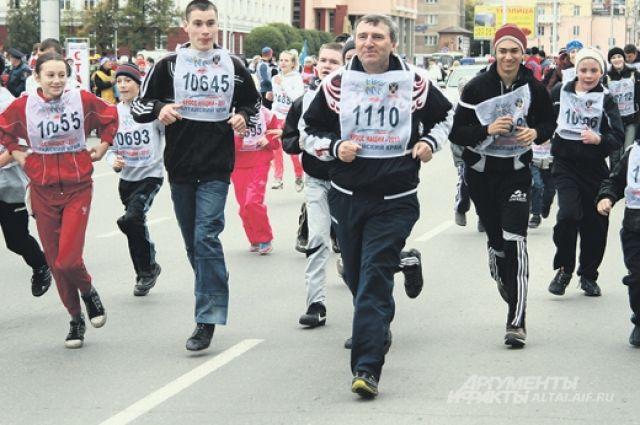 В «Кроссе наций» примет участие около 50 тысяч жителей Екатеринбурга
