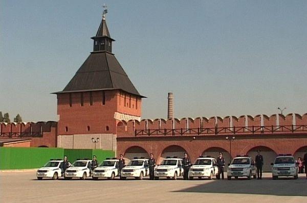 Новые автоомбили для сотрудников УГИБДД по Тульской области.