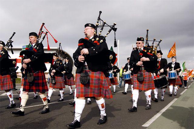 Торжества в Шотландии