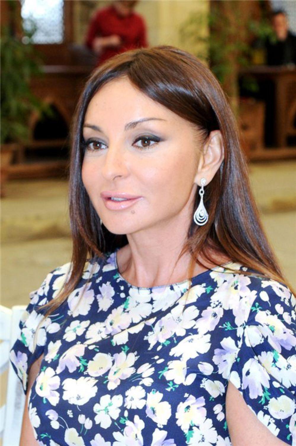 Мехрибан Алиева, Азербайджан