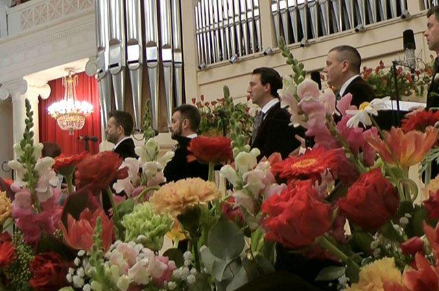Исполнение произведений Дж. Тавенера в Санкт-Петербурге 11 мая 2013 г.