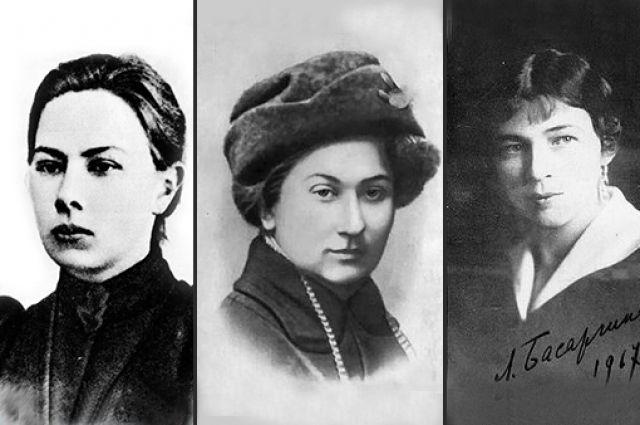 На фото (слева направо) Надежда Крупская, Ольга Форш и Любовь Блок.